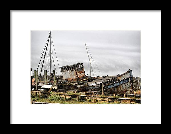 Boat Framed Print featuring the photograph The Good Hope by Jacqui Kilcoyne