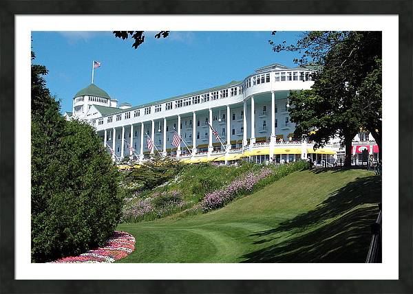 The Grand Hotel Mackinac Island by Spencer Meagher