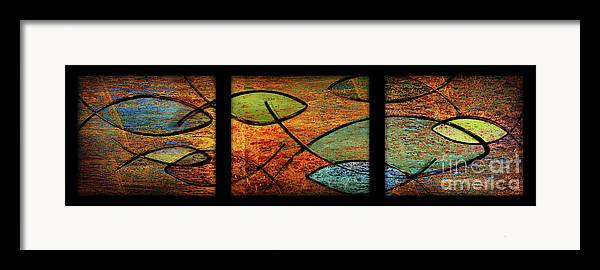 Christian Framed Print featuring the mixed media The Great Commission by Shevon Johnson
