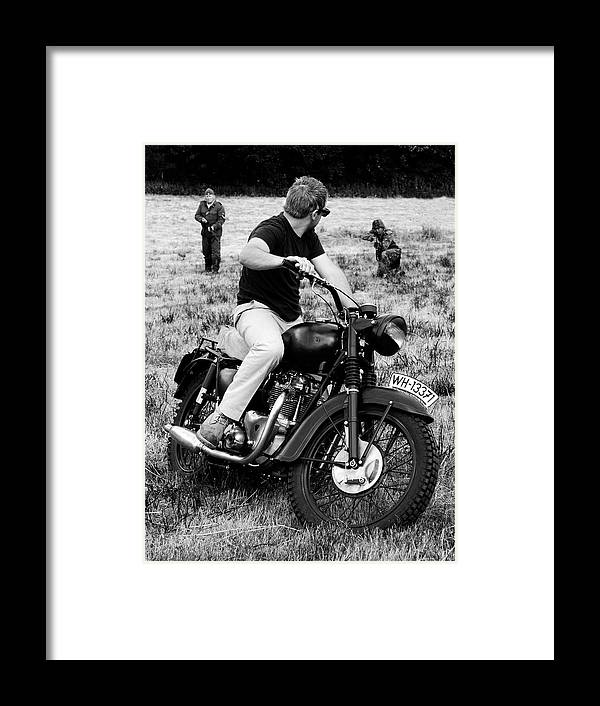 Triumph Framed Print featuring the photograph The Great Escape by Mark Rogan