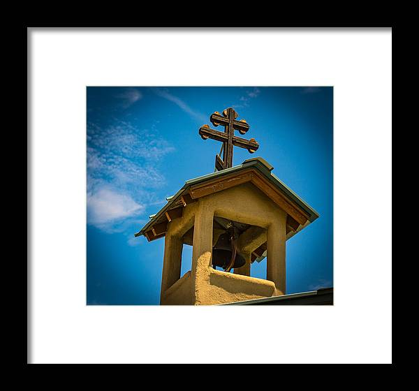 Belfry Framed Print featuring the photograph The Greek Orthodox Belfry by Paul LeSage