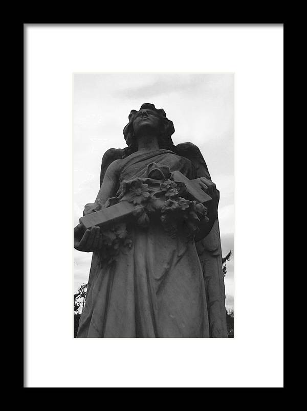 Angel Framed Print featuring the photograph The Guardian by Valerie Josi