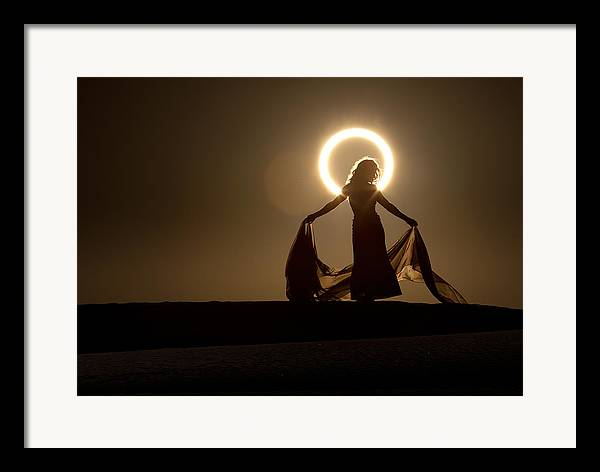 2012 Framed Print featuring the photograph The Halo by Dario Infini