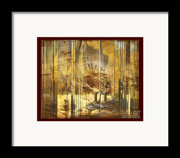 Conservation Framed Print featuring the digital art The Hands Of Time by Chuck Brittenham