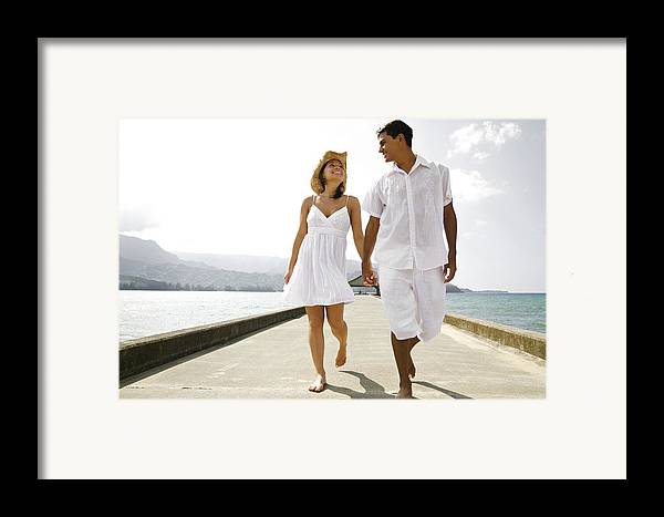 Affection Framed Print featuring the photograph The Happy Couple by Kicka Witte - Printscapes