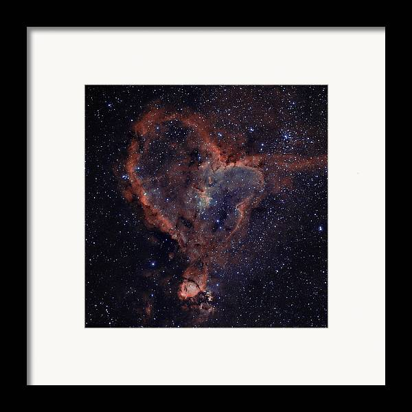 Astronomy Framed Print featuring the photograph The Heart by Charles Warren