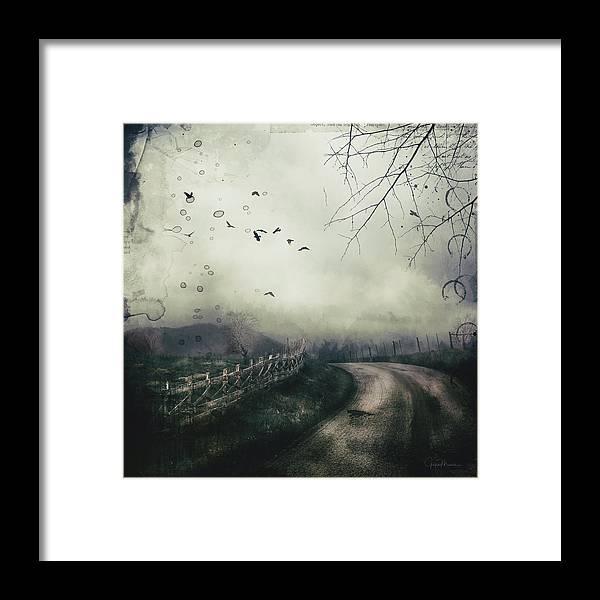 Highlands Framed Print featuring the digital art The Highlands by Joyce Maris