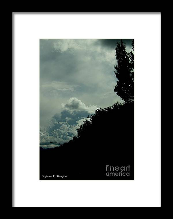 Trees Framed Print featuring the photograph The Hillside by Jason R Hampton