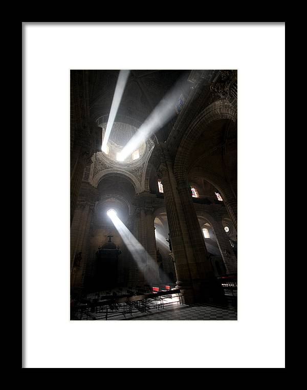 Church Framed Print featuring the photograph The Holy Hour by Jason Hochman