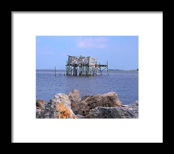 Cedar Key Framed Print featuring the photograph The Honey Moon Suite 2 - Debbie May - Phtosbydm by Debbie May