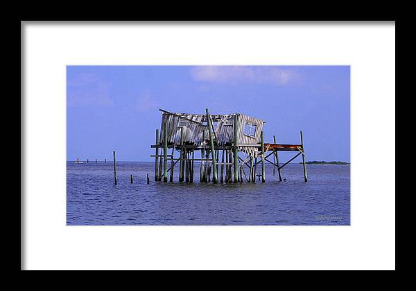Cedar Key Framed Print featuring the photograph The Honey Moon Suite 3 - Debbie May - Phtosbydm by Debbie May