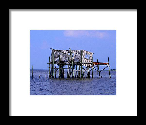 Cedar Key Framed Print featuring the photograph The Honey Moon Suite 4 - Debbie May - Phtosbydm by Debbie May