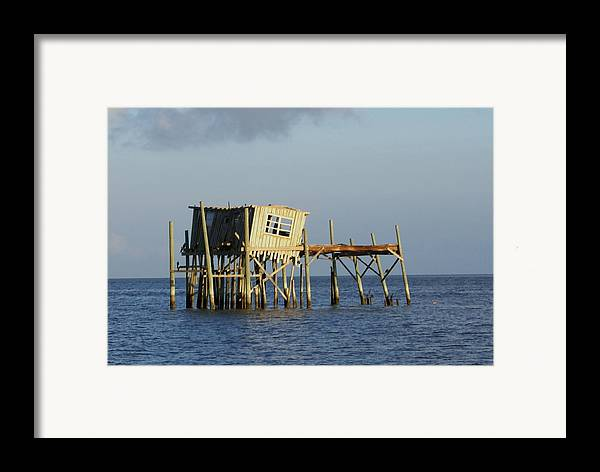 Seascape Framed Print featuring the photograph The Honeymoon Suite by Debbie May