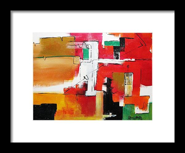 Acrylic Framed Print featuring the painting The Hood by Gary Smith