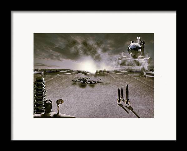 Abstract Framed Print featuring the photograph The Industrial Revolution by Nathan Wright