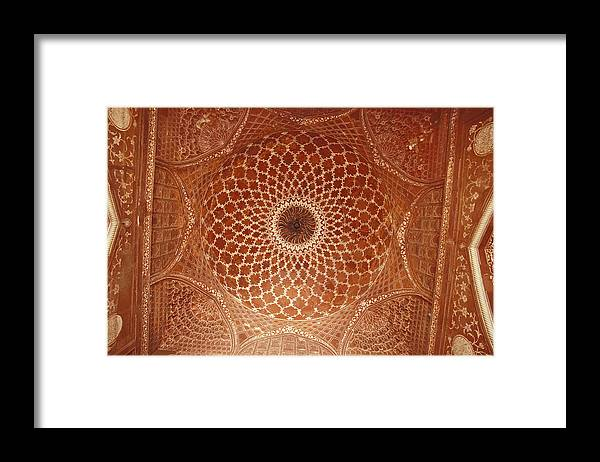 Agra Framed Print featuring the photograph The Intricate Inlay And Carving by Jason Edwards