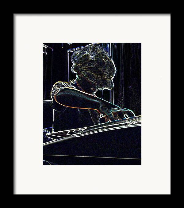 Music Framed Print featuring the photograph The Jammin Oop Man Jack by Scarlett Royal