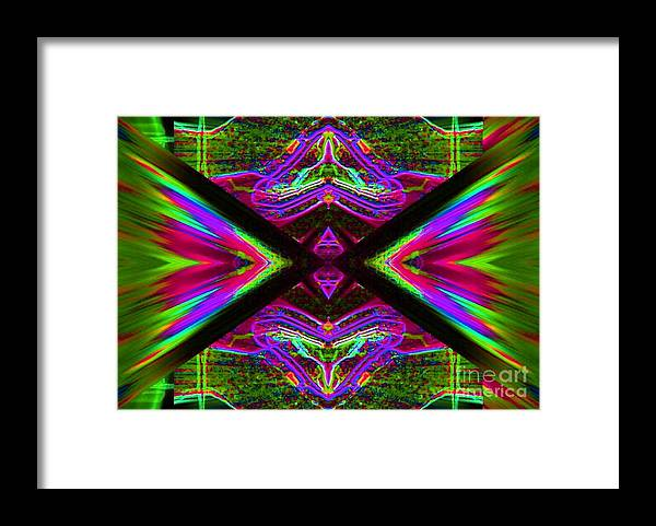 Lorles Lifestyles Framed Print featuring the digital art The Joker by Lorles Lifestyles