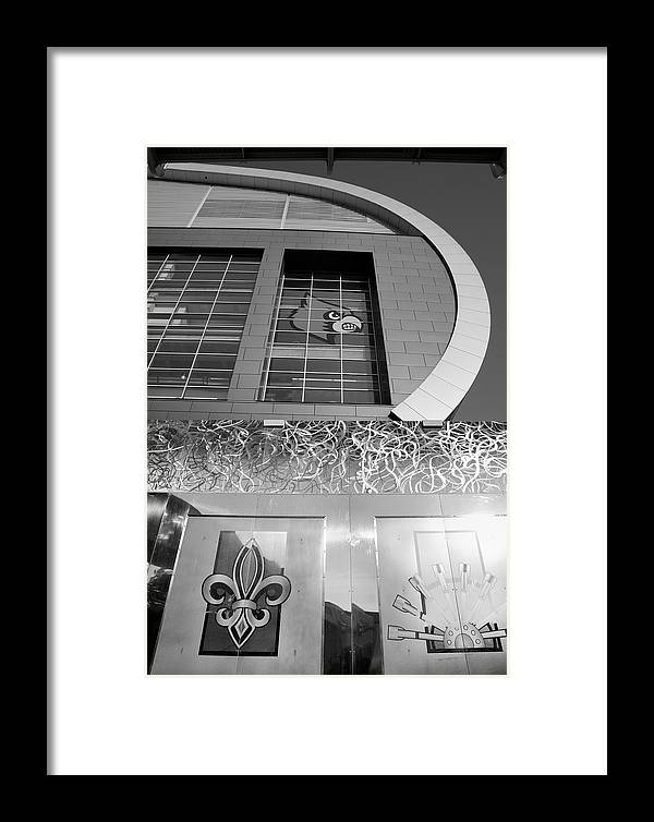 Building Framed Print featuring the photograph The Kfc Yum Center II by Steven Ainsworth