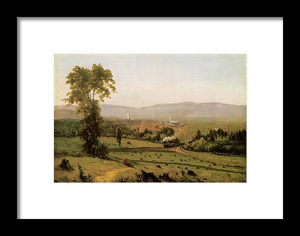 George Inness Framed Print featuring the painting The Lackawanna Valley by George Inness