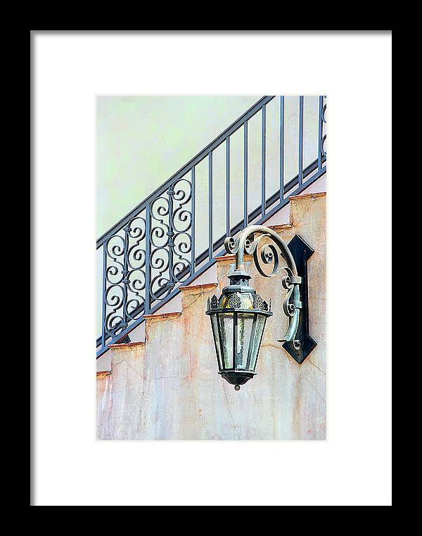 Landscape Framed Print featuring the photograph The Lamp by Pat Carosone