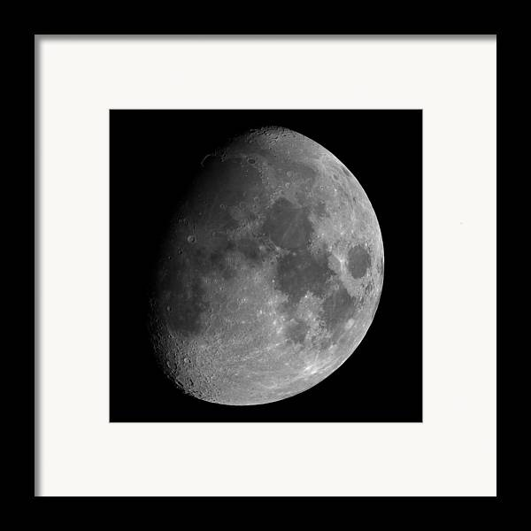 Moon Framed Print featuring the photograph The Largest Moon Photograph Ever Taken From Earth by Bartosz Wojczynski