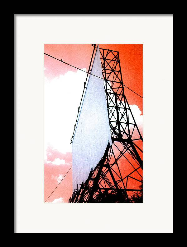 Last Framed Print featuring the photograph The Last Drive-in by Darren Stein