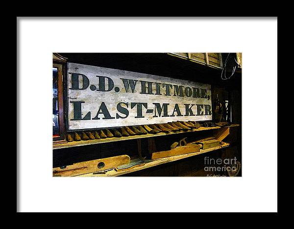 Antique Framed Print featuring the painting The Last Of The Last by RC DeWinter