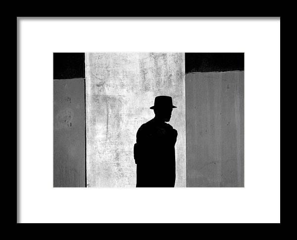 Abstract Framed Print featuring the photograph The Last Time I Saw Joe by Steven Huszar