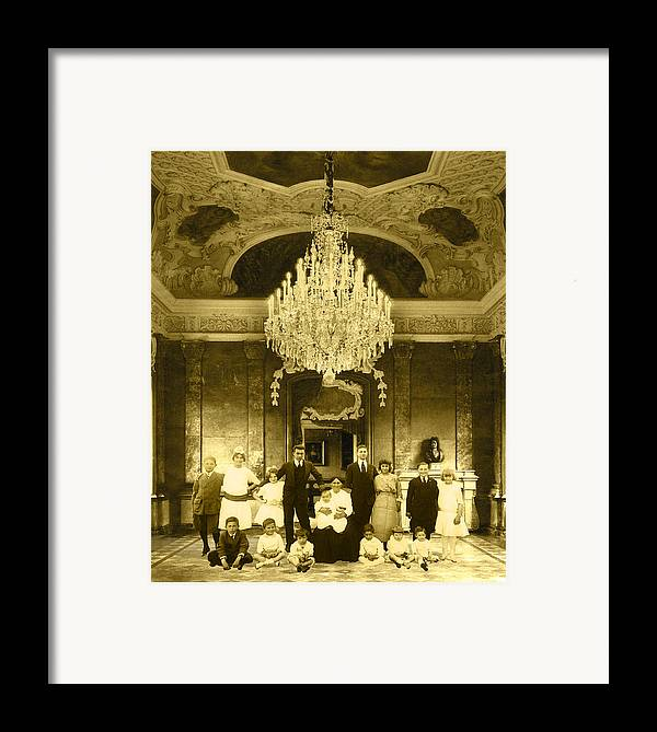 Interior Scene Framed Print featuring the photograph The Last Visit by Roslyn Rose