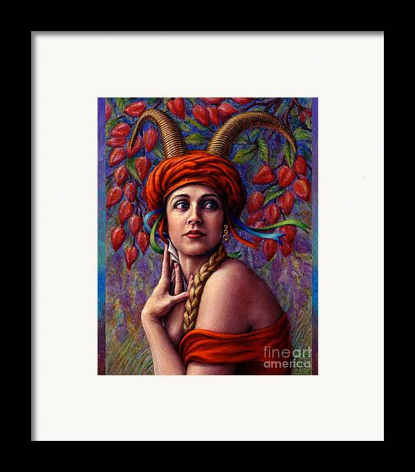 Woman Framed Print featuring the painting The Letter by Jane Bucci