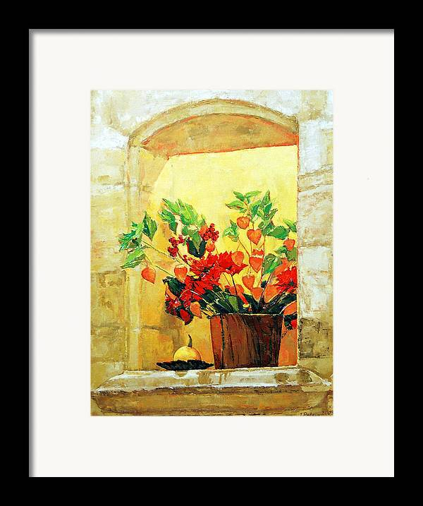 Still Life Framed Print featuring the painting The Light by Iliyan Bozhanov