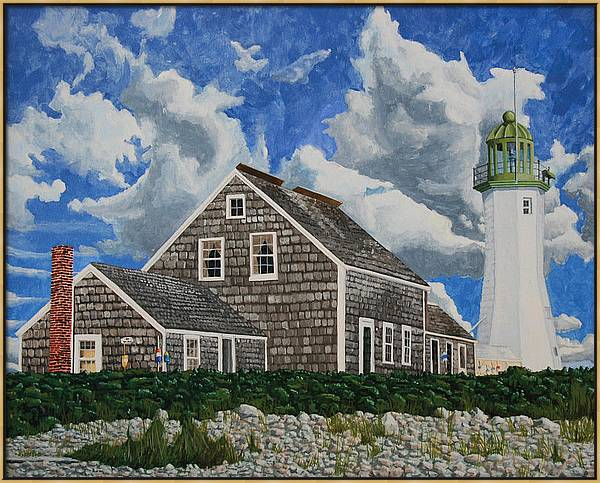 The Light Keeper's House by Dominic White