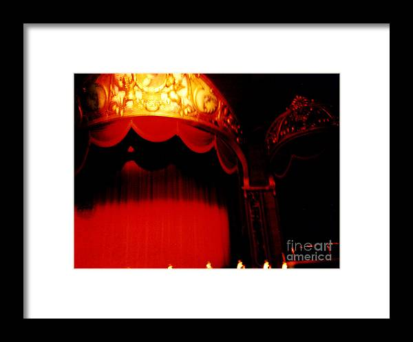Stage Framed Print featuring the photograph The Lights Go Down... by Jason Williams