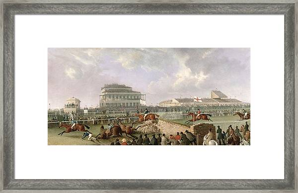 The Liverpool and National Steeplechase at Aintree Tasker Pferd Faks/_B 03529