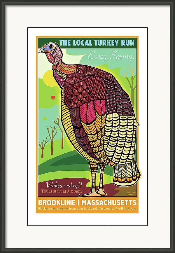 The Local Turkey Run by Caroline Barnes