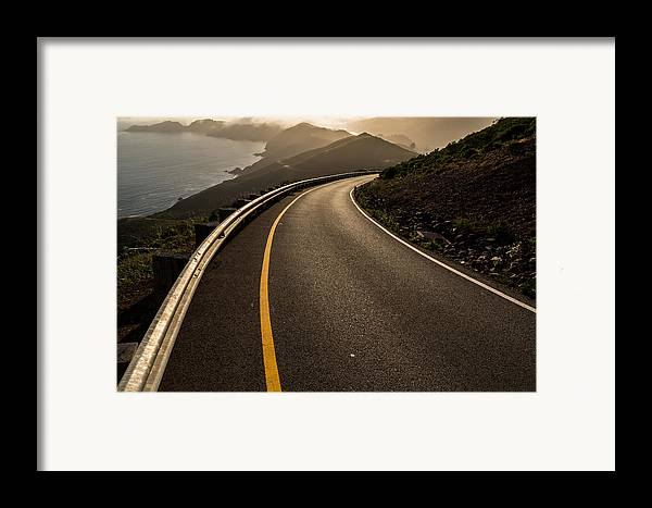 Marin Framed Print featuring the photograph The Long And Winding Road by John Daly