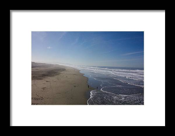 Beach Framed Print featuring the photograph The Long Beach by James Johnstone