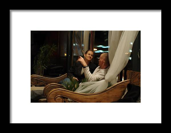 Roy Williams Framed Print featuring the photograph The Look Of Love - Digitalart by Roy Williams