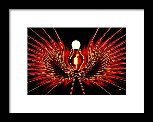 Abstract Framed Print featuring the digital art The Lost Pearl by Will Borden