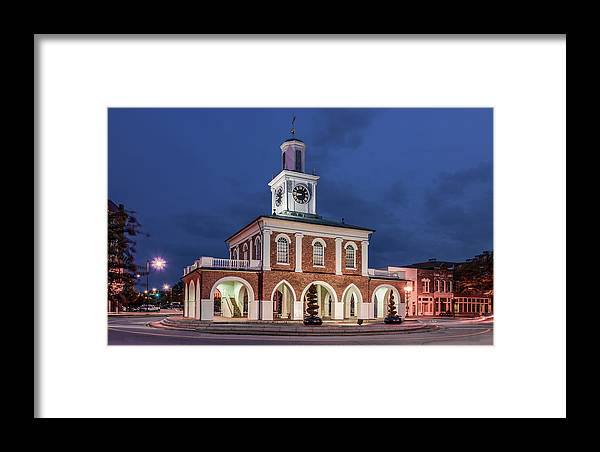 Antique Framed Print featuring the photograph The Market House by Rob Sellers