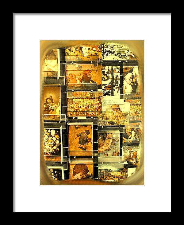 Art Framed Print featuring the photograph The Masters Reduced To This by Ian MacDonald