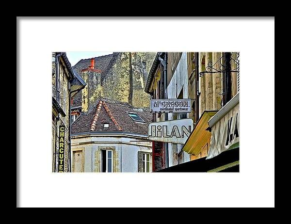 Beaune Framed Print featuring the photograph The Medieval City Of Beaune by Kirsten Giving