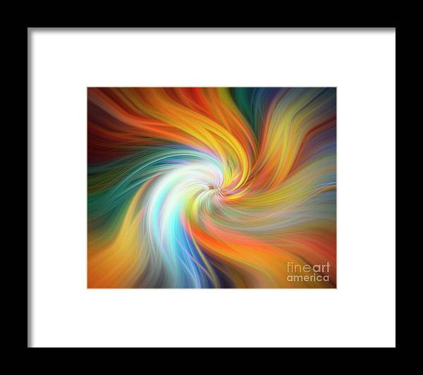 Design Framed Print featuring the photograph The Melting Pot 0610 by Howard Roberts