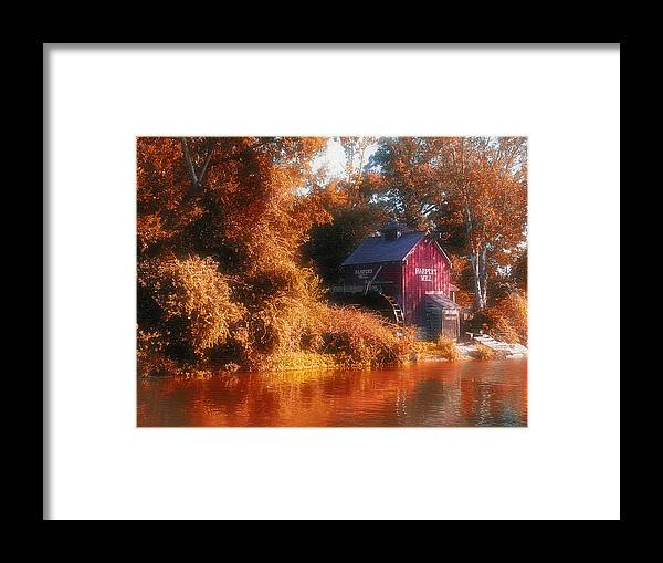 Mill Framed Print featuring the photograph The Mill by Kenneth Krolikowski