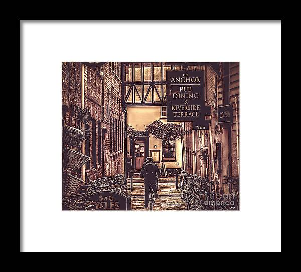 Mill Framed Print featuring the photograph The Mill by Nigel Dudson