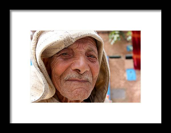 Morocco Framed Print featuring the photograph The Moroccan Man by Jason Hochman