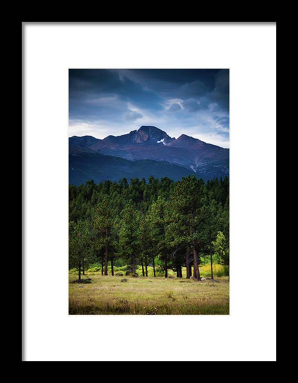 Colorado Framed Print featuring the photograph The Mountains Are Calling by John De Bord