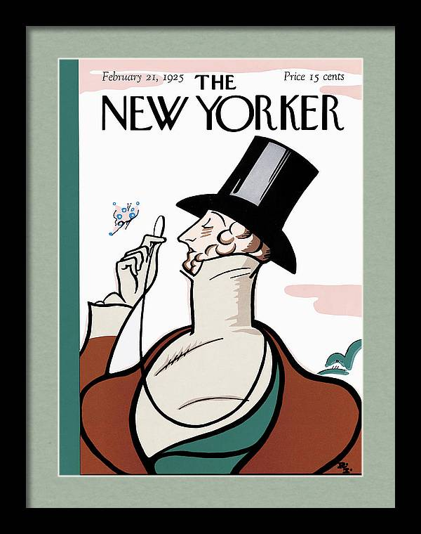 The New Yorker Cover - February 21st, 1925 by Rea Irvin