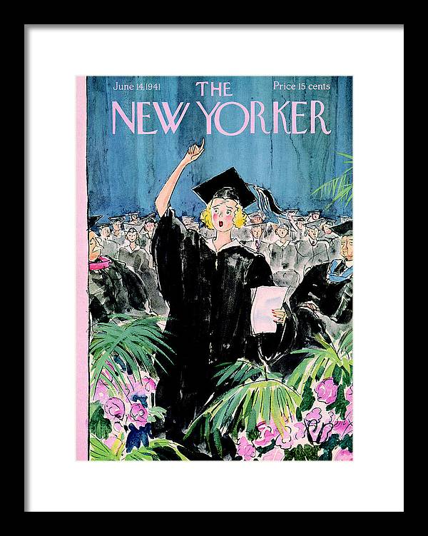 The New Yorker Cover - June 14th, 1941 by Perry Barlow